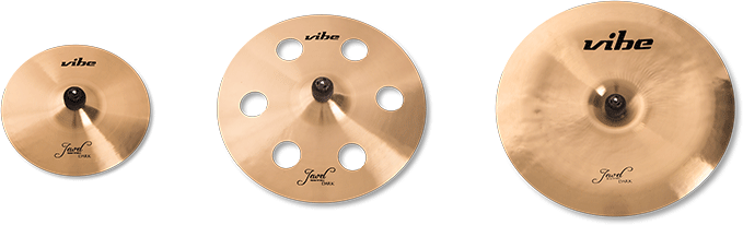Jewel Dark Cymbal Set 3