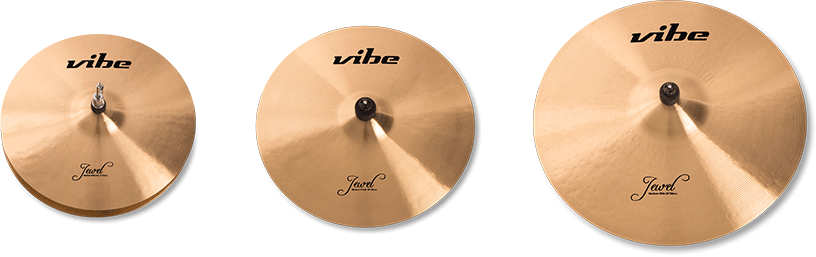 Jewel Traditional Cymbal Set 1