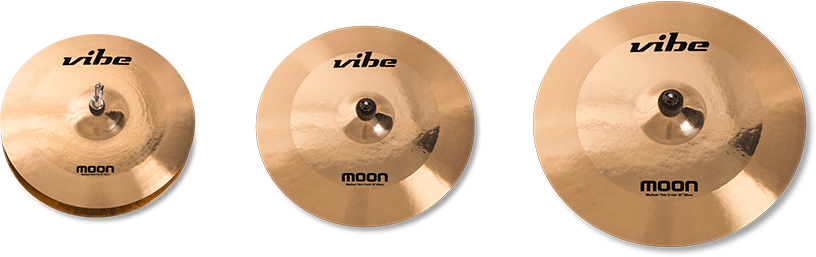 Moon Brilliant Cymbal Set 1