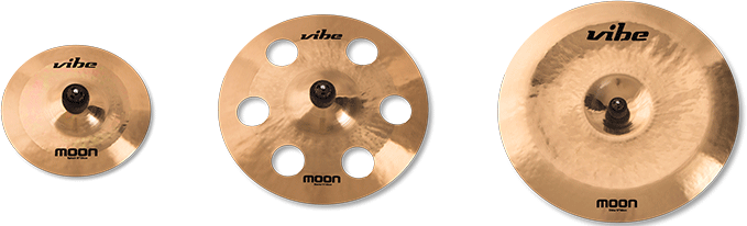 Moon Brilliant Cymbal Set 3