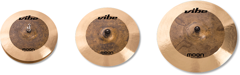 Moon Natural Cymbal Set 1
