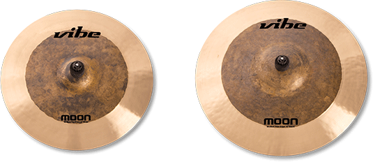 Moon Natural Cymbal Set 2