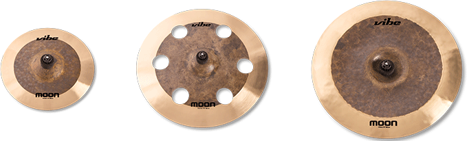 Moonn Natural Cymbal Set 3