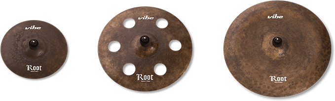 Root Cymbal Set 3