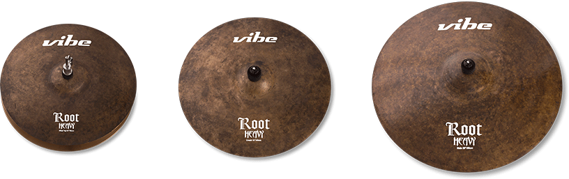 Root Heavy Cymbal Set 1