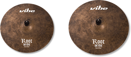 Root Heavy Cymbal Set 2