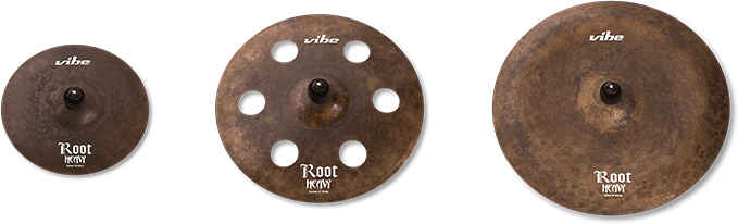Root Heavy Cymbal Set 3