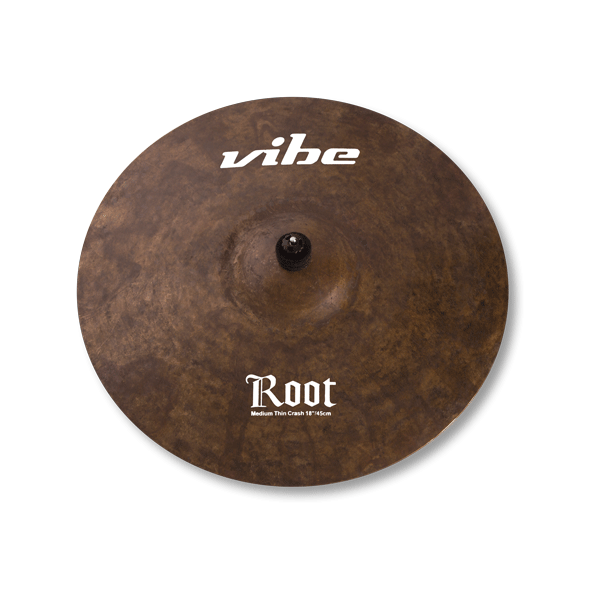 Root Medium Thin Crash 18 po